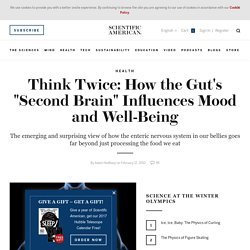 """Think Twice: How the Gut's """"Second Brain"""" Influences Mood and Well-Being"""