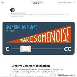 Creative Commons thinkathon – WeAreOpenCoop – Medium