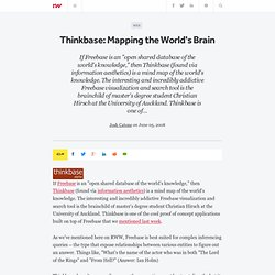 Thinkbase: Mapping the World's Brain