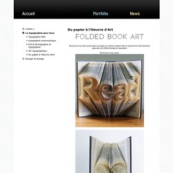 ThinkdifferentLa typographie pour tous : Du papier à l'Oeuvre d'Art
