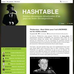 Thinkerview : Henri Maler pose l'oeil d'ACRIMED sur les médias actuels