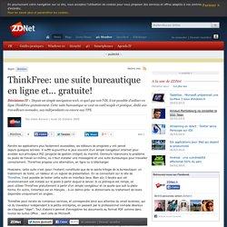 ThinkFree: une suite bureautique en ligne et... gratuite!