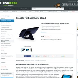 Crabble Folding iPhone Stand