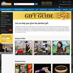 Shop for Gifts