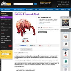Half-Life 2 Headcrab Plush