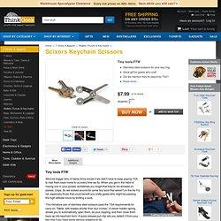 Scixors Keychain Scissors