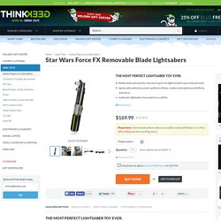 Star Wars Force FX Removable Blade Lightsabers