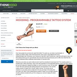 moodINQ - Programmable Tattoo System