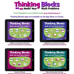 Thinking Blocks - Model and Solve Math Word Problems
