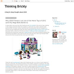 Why LEGO Friends is not the Worst Toy of 2012