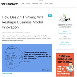 How Design Thinking Will Reshape Business Model Innovation