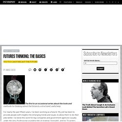 Futures Thinking: The Basics