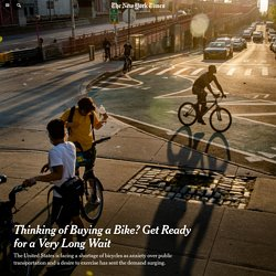 Thinking of Buying a Bike? Get Ready for a Very Long Wait