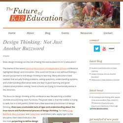 Design Thinking: Not Just Another Buzzword