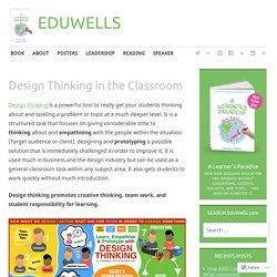 Design Thinking in the Classroom – EDUWELLS