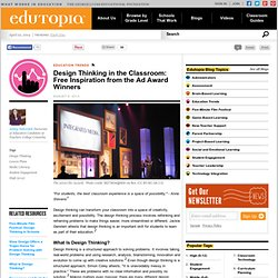 Design Thinking in the Classroom: Free Inspiration from the Ad Award Winners