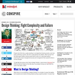 Design Thinking: Fight Complexity and Failure | The Mindjet Blog