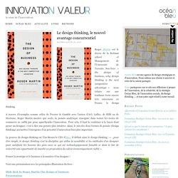 Le design thinking, le nouvel avantage concurrentiel
