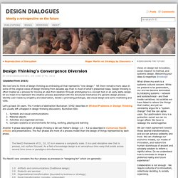 Design Thinking's Convergence Diversion