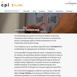Design Thinking » CPi - Création d'un produit innovant