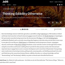 Thinking Edibility Otherwise · Journal of Design and Science
