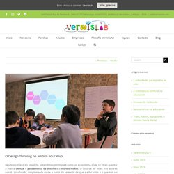 O Design Thinking no ámbito educativo