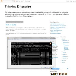 Thinking Enterprise