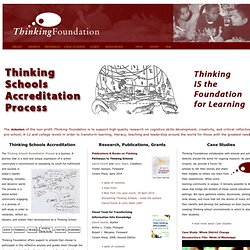 Thinking Foundation
