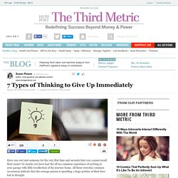 7 Types of Thinking to Give Up Immediately