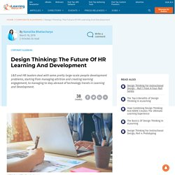 Design Thinking: The Future Of HR Learning And Development