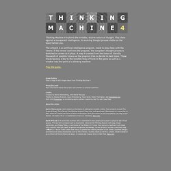 Thinking Machine 4 - StumbleUpon