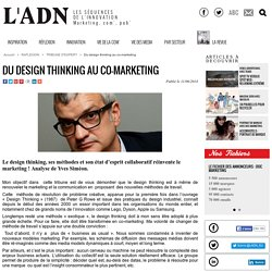 Du design thinking au co-marketing - Tribune d'expert