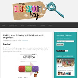 Making Your Thinking Visible With Graphic Organizers - The Classroom Key