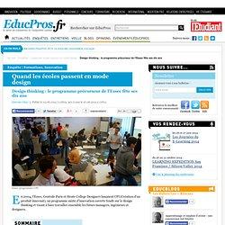 Design thinking : le programme précurseur de l'Essec fête ses dix ans - Enquête sur Educpros
