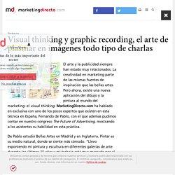 Visual thinking y graphic recording, el arte de plasmar en imágenes todo tipo de charlas - Marketing Directo