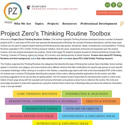 PZ's Thinking Routines Toolbox