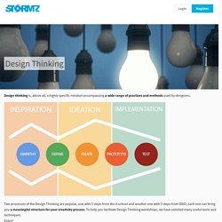 Design Thinking - Stormz - Workshop Facilitation Solution