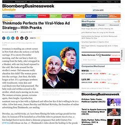 Thinkmodo Turns Viral Video Pranks Into Online Ads