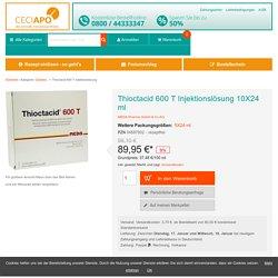 Thioctacid 600 T Injektionslösung von MEDA Pharma GmbH & Co.KG