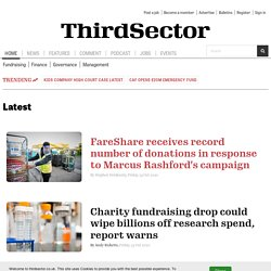 Third Sector | Latest voluntary sector news and jobs