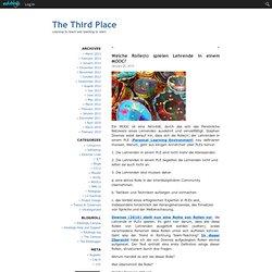 The Third Place - Welche Rolle(n) spielen Lehrende in einem MOOC?