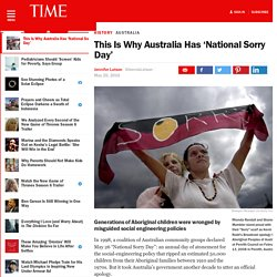 This Is Why Australia Has 'National Sorry Day'