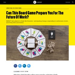 Can This Board Game Prepare You For The Future Of Work?