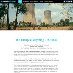 This Changes Everything – The Book