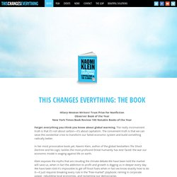 THIS CHANGES EVERYTHING: THE BOOK
