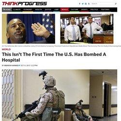 Bombing Hospitals