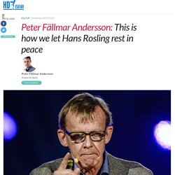 This is how we let Hans Rosling rest in peace - HD