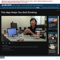 This App Helps You Quit Drinking