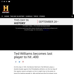 This Day in History — History.com — What Happened Today in History