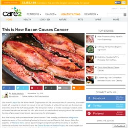 This is How Bacon Causes Cancer